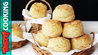 CHEESE SCONES Recipe 🧀 Super Easy Breakfast 🧀 Tasty Cooking