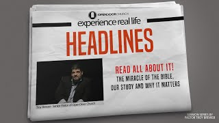 Read all about it | Troy Brewer | Headlines