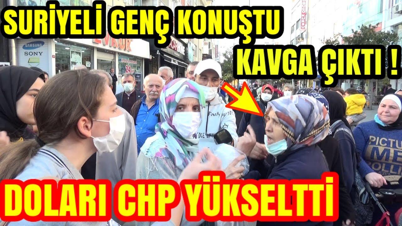 Download AKP NİN KALESİNDE GÖRÜLMEMİŞ KAVGA. SURİYELİ GENÇ KONUŞTU ORTALIK KARIŞTI