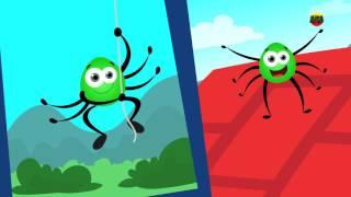 Aranha wincy incy | Rimas para crianças em portugues | Incy Wincy Spider Rhyme | Nursery Rhymes