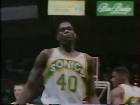 Seattle Sonics 1993-94 Mini clip