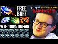Miracle [Slark] WTF!? x5 Farm than Other - 20 min FREE Aghanim buff Dota 2