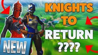 🔴 *NEW* FORTNITE SEASON 8 POSSIBILITY KNIGHTS RETURN? Black Knight v2? Red Knight v3? OPINIONS!
