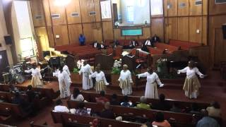 BBC Women Of Worship Dance Ministry 07/13/2014