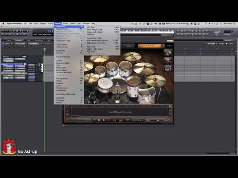 Bussing out individual drums from Toontrack EZ Drummer to MOTU Digital Performer 11