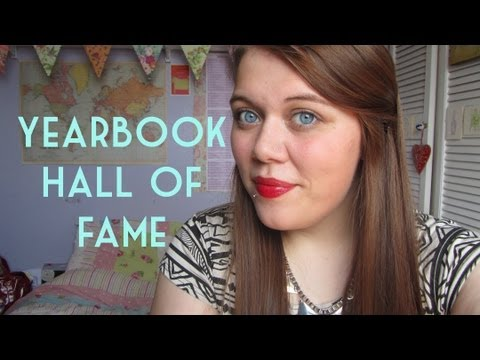 Book Tag | Yearbook Hall of Fame