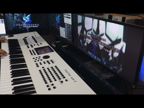 【FF14】BGM 極ナイツ Knights Of The Round Theme 弾いてみた Piano Cover - OST