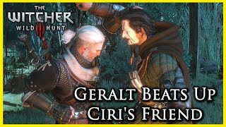 Witcher 3: Geralt Refuses to Help and Beats Up Ciri