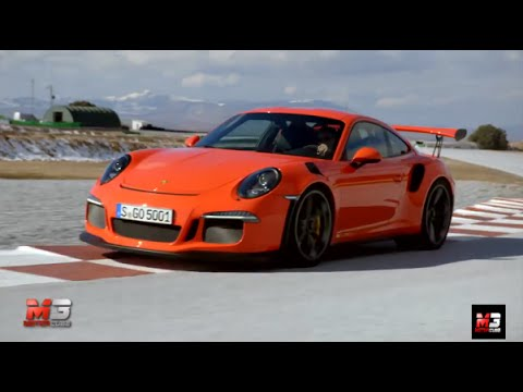 new porsche 911 gt3 rs vs cayman gt4 2015 first test on track youtube. Black Bedroom Furniture Sets. Home Design Ideas