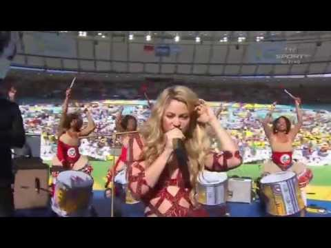Shakira - La La La Live (Brazil 2014) ft. Carlinhos Brown Closing Ceremony FIFA World Cup 2014