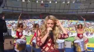 Download Mp3 Shakira - La La La Live  Brazil 2014  Ft. Carlinhos Brown Closing Ceremony Fifa