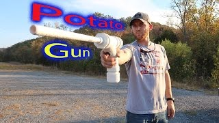 How To Make  A POTATO GUN!!! | Super Easy
