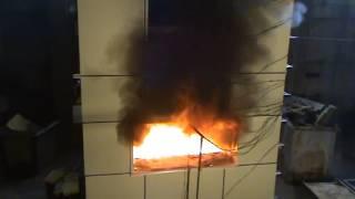 Изолтекс НГ - огневые испытания фасадной системы(Видео материалы