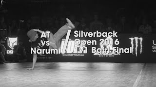 AT vs Narumi [bgirl finals] // .stance x udeftour.org // Silverback Open 2016