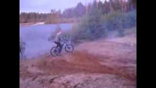 Прыжки на велосипеде видео через Костер(прыжки на велосипеде видео через Костер., 2013-10-13T20:24:49.000Z)