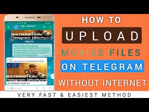 How to Upload Movies in Telegram Channel in just 1-2 Min |अपने Telegram में Movies कैसे Upload करे from YouTube · Duration:  8 minutes 17 seconds