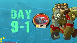 Plants vs. Zombies 2 China - Castle in the Sky - One Gun Guard 1