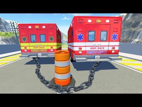 Мультики про машинки - Соревнования по парам! Видео игра для мальчиков