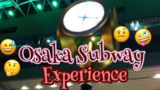 osaka subway- exit 14