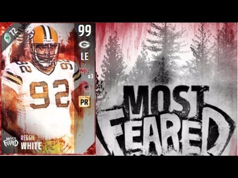 Most Feared Reggie White | Player Review | Madden 17 Ultimate Team Gameplay