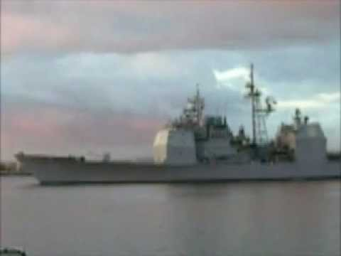US Navy Ship returns to 32nd Street Naval Station