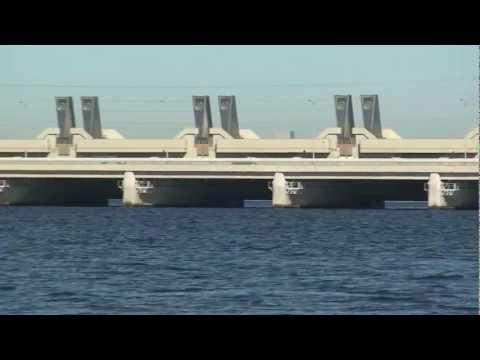 Artificial Structures on St. Petersburg Flood Barrier