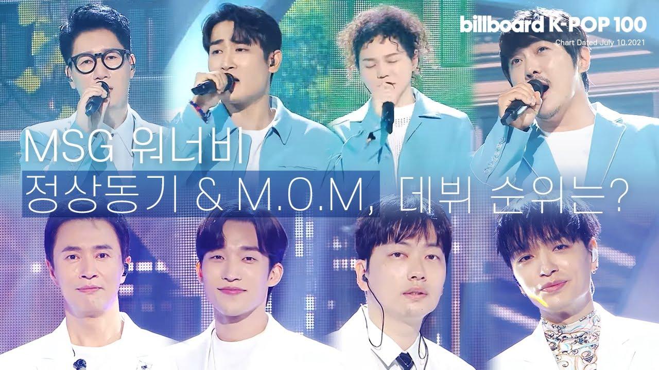 [빌보드 K-POP 100] 이주의 핫 순위! | MSG워너비의 핫 샷 데뷔! (2021.07.10)