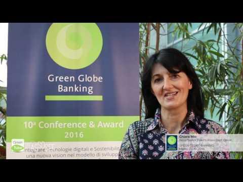 Intervista a Chiara Mio | X Edizione Green Globe Banking Conference & Award