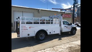 Our brand new 2018 F550 Tire Service Truck