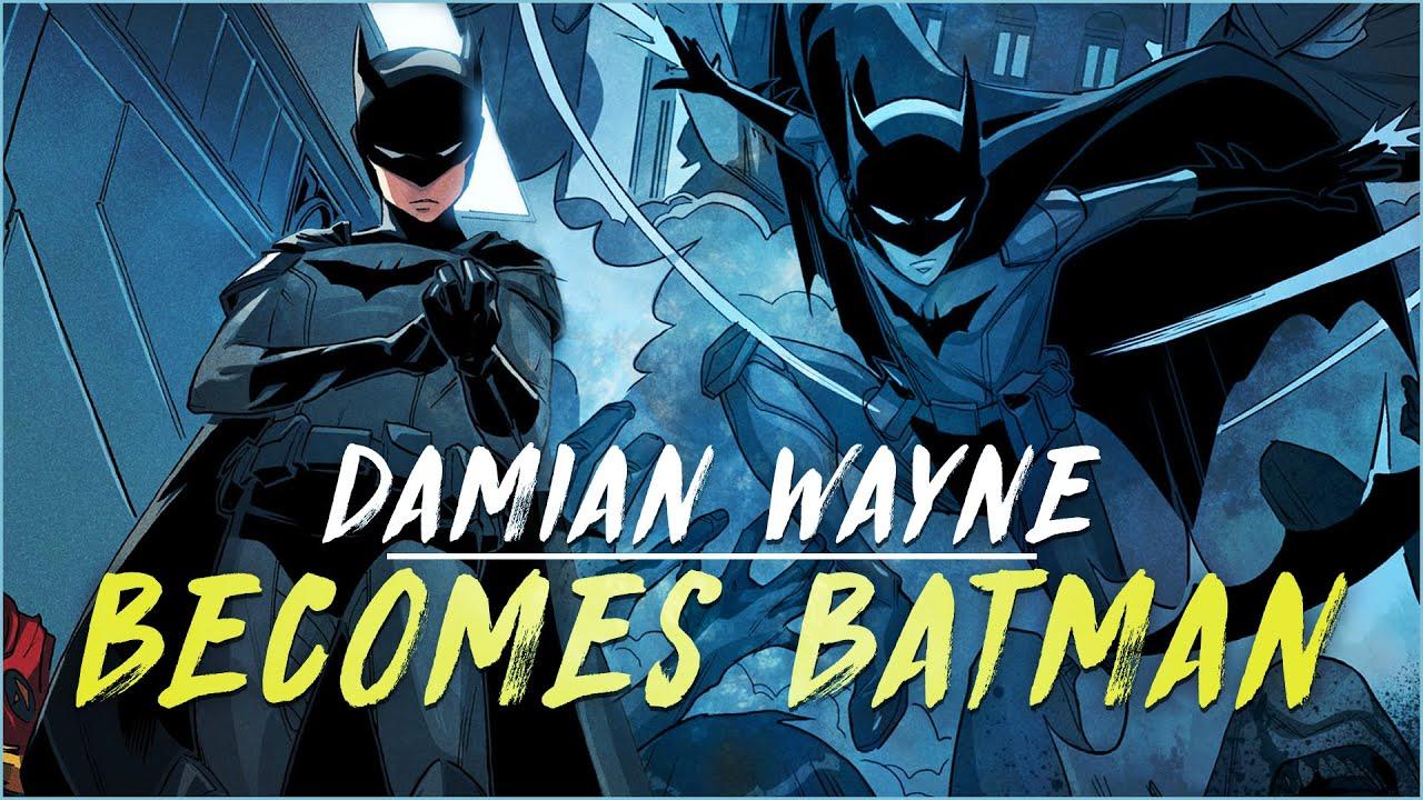 Damian Wayne Becomes Batman