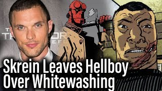 Ed Skrein Leaves Hellboy Over Whitewashing