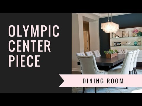 Olympic Center Piece For Dining Room