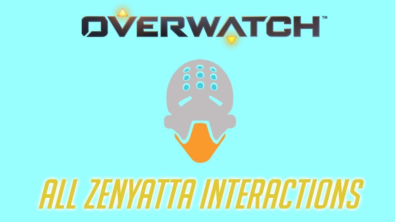 Overwatch All Zenyatta Interactions Unique Kill Quotes Youtube