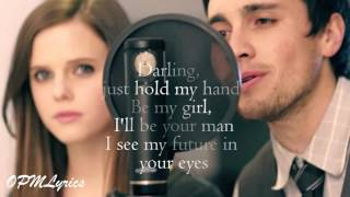 Video Perfect (Lyrics) - Ed Sheeran - {Tiffany Alvord & Chester See Cover} download MP3, 3GP, MP4, WEBM, AVI, FLV Maret 2018