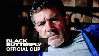 """Black Butterfly (2017 Movie) – Official Clip """"Sorry For The Scare"""""""