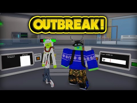 ZOMBIE OUTBREAK IN THE LAB! (ROBLOX Innovation Arctic Facility)