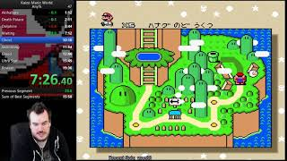 Kaizo Mario World Any % Speedrun in 18:23