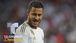 Este fue el número que usó Eden Hazard en su debut con el Real Madrid   Telemundo Deportes