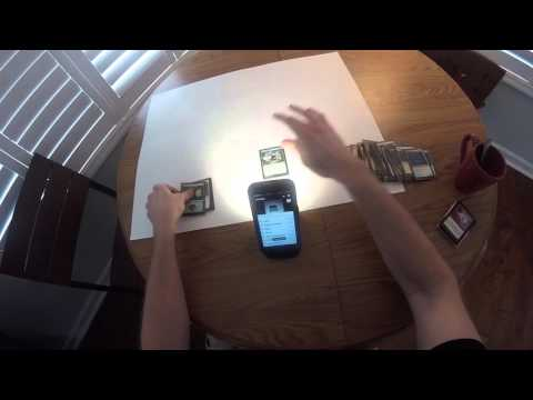 Scanning a sleeved 40-card deck in under a minute