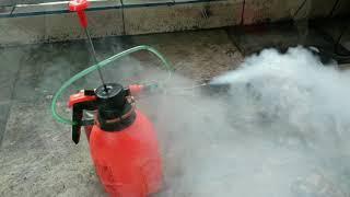 Diy alat mesin fogging sederhana