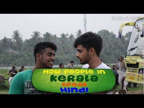 How people in Kerala speak Hindi