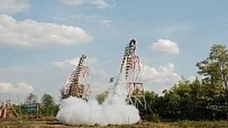 【ロケット祭り】ロケット打ち上げ(ヤソートーン) Rocket Festival บุญบั้งไฟ