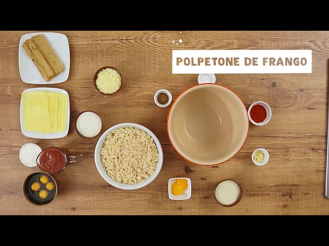 SUPER FRANGO - Polpetone de Frango
