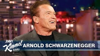 Download Arnold Schwarzenegger on Son-in-law Chris Pratt, Pranking Sylvester Stallone & Terminator's Return Mp3 and Videos