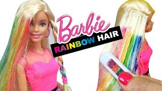 Barbie Oyuncak Sa Yapma Seti ile Ypranm Salara Bakm  Evcilik TV