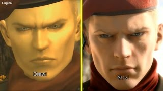 Metal Gear Solid 3 Pachinko vs PS3 Original Graphics Comparison (New Gameplay)