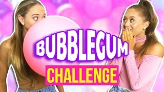 Bubble Gum Challenge! | The Rybka Twins
