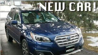 NEW CAR! 2017 Subaru Outback 3.6R Review!