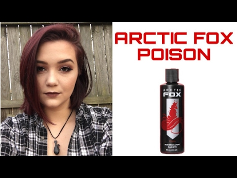 2ee50e236b89e9 PURPLE HAIR!?!?! Coloring my hair with Arctic Fox Hair Color! by ...