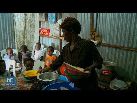 """Mother of many"" in Africa's largest urban slum"